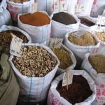 Raw Chinese herb market, Chengdu